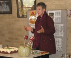 Sophie Thomson at the Hills Harvest Exchange 1st Birthday